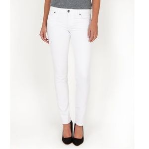 KUT FROM THE KLOTH Jeans Diana Skinny White EUC 10